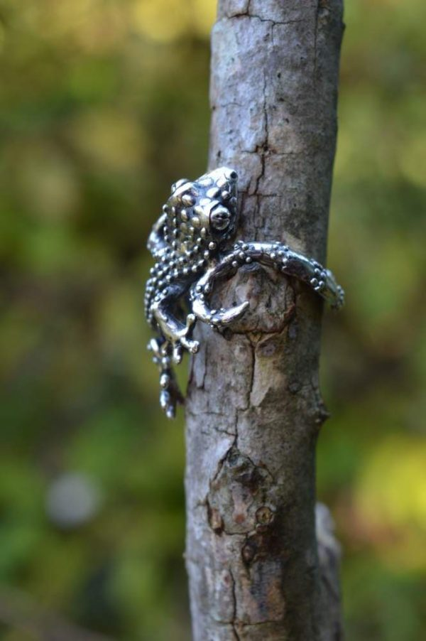 Gecko Ring - Emma Keating Jewellery