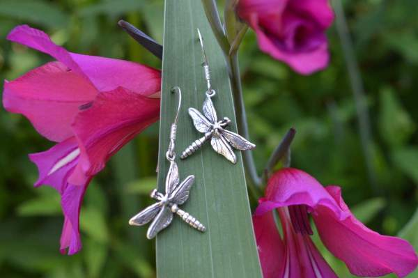 Dragonfly drops 2 - Emma Keating Jewellery