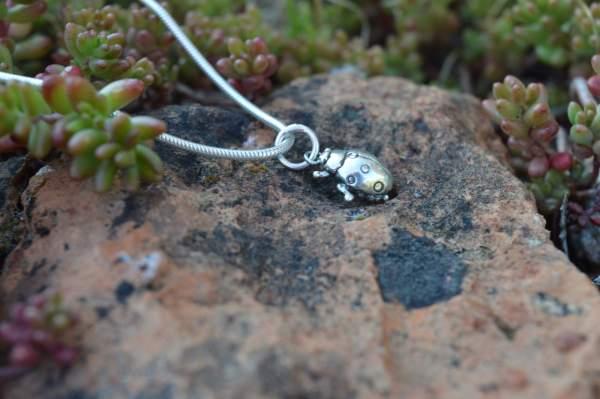 Ladybird Pendant 2s - Emma Keating Jewellery