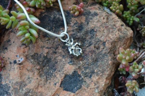 Ladybird Pendant underside s - Emma Keating Jewellery