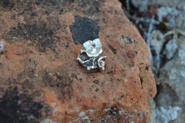 Ladybird Studs underside - Emma Keating Jewellery