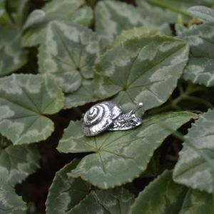 Sterling Silver Snail Pin by Emma Keating Jewellery