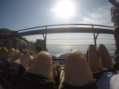 When we all decided to do #hotdogsorlegs on the mountain