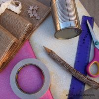 tin can upcycling materials