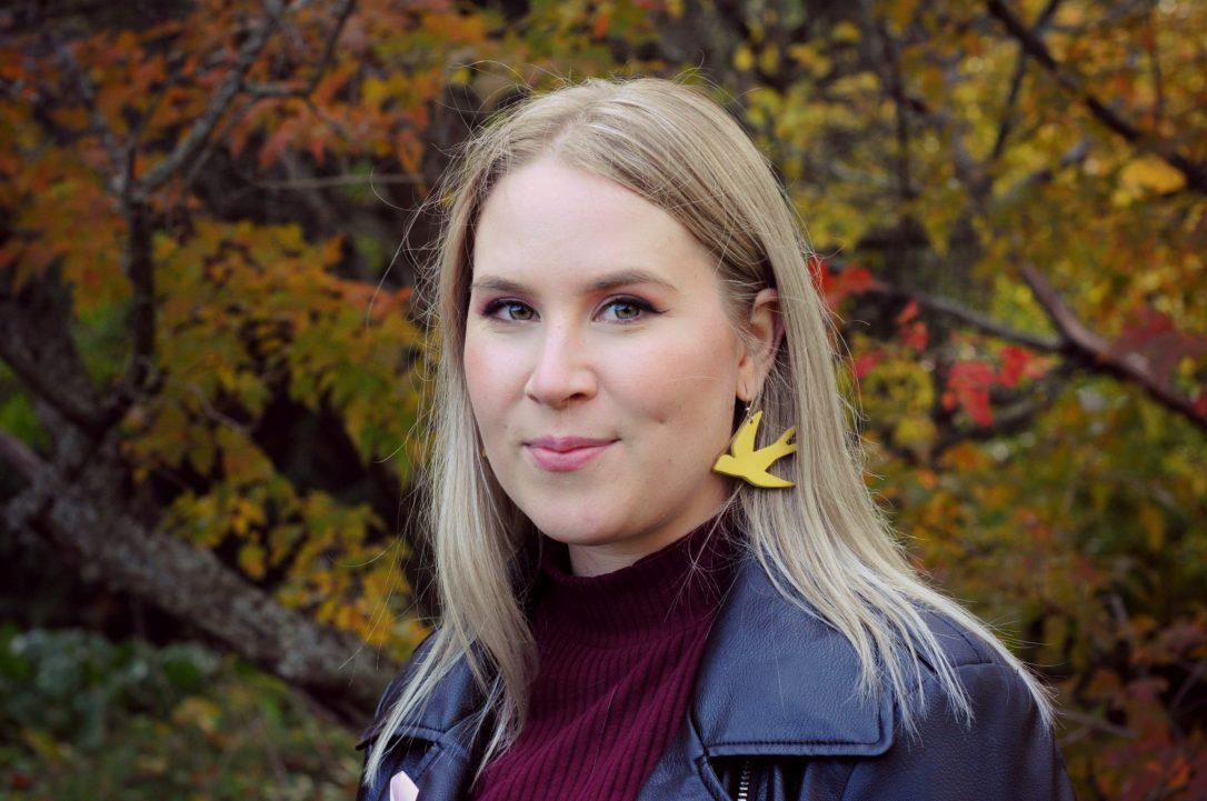 Emma Lindqvist Lehdistökuva Syksy