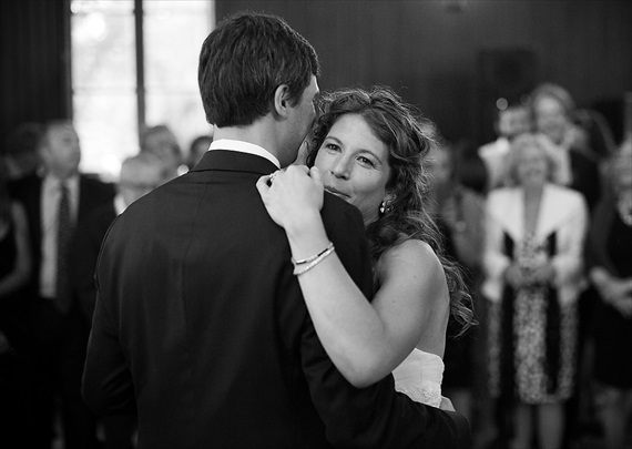 Dennis Drenner Photographs - baltimore museum wedding - bride and groom dance