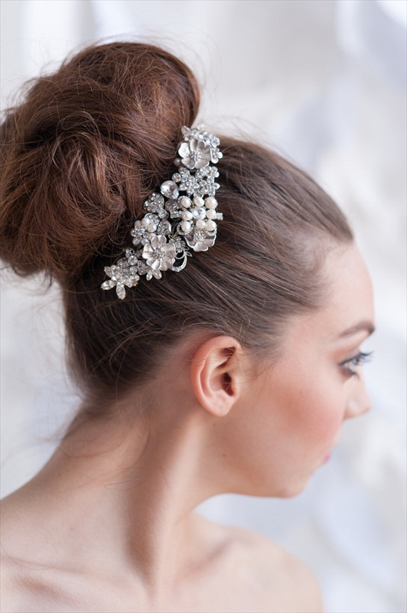 Tessa Kim 2013 Collection - rhinestone hair clip