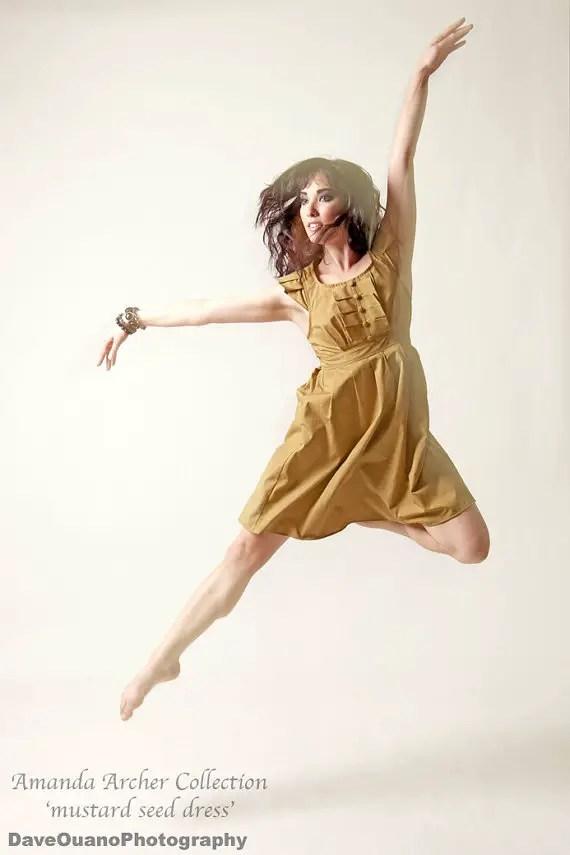 mustard bridesmaid dress