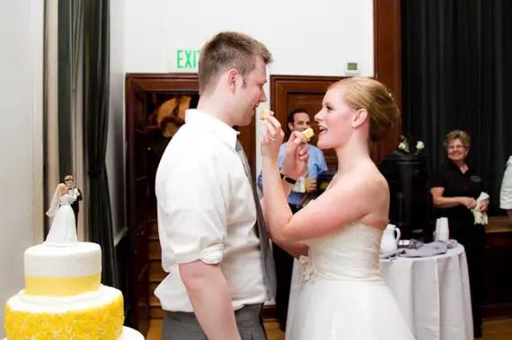 ashley + ian real wedding
