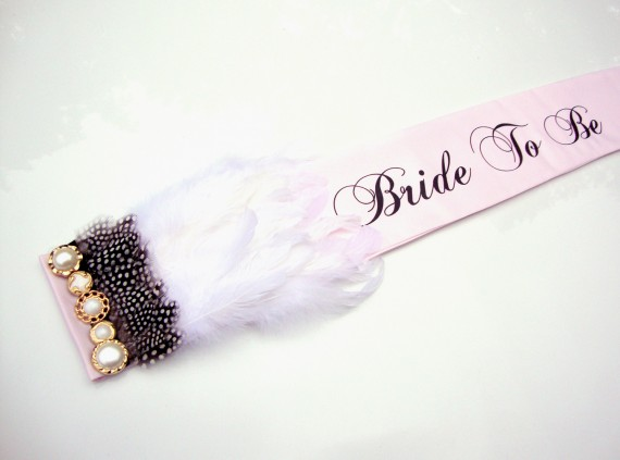 win a bride to be sash