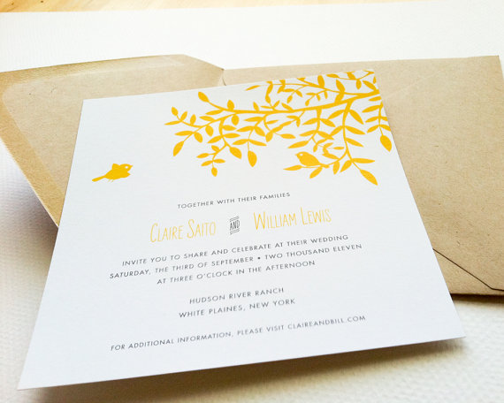 ocean wedding invitation