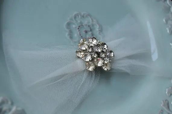 vintage bridal bow headband