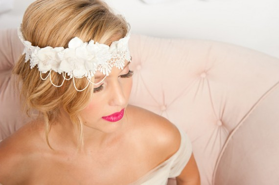 bridal hair accessories 2012