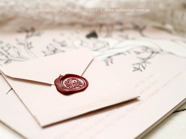 Very best How to Use Wax Seals for Invitations + DIY Wax Seals | Emmaline Bride GW42