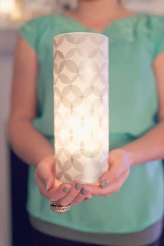 diy wedding lantern
