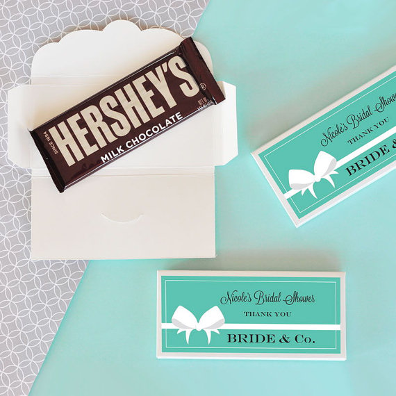 bride and co candy wrappers by SweetPartyGoodies