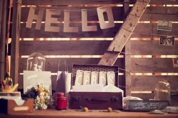 kraft paper wedding