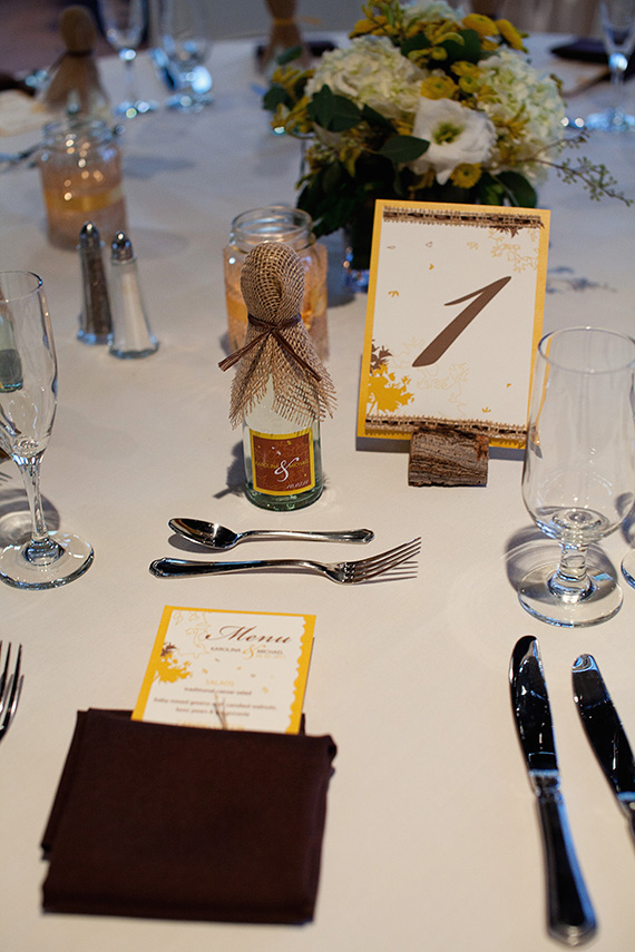 handmade wedding New Jersey Fall