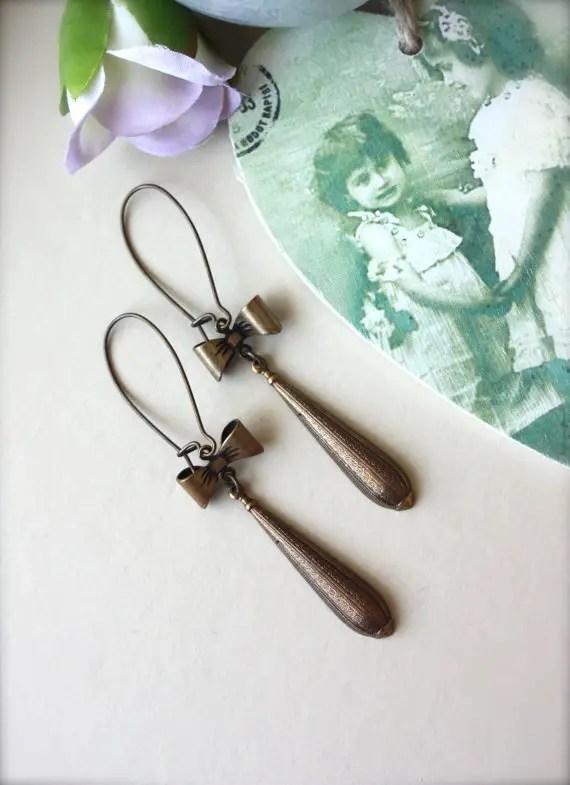handmade bridesmaid earring
