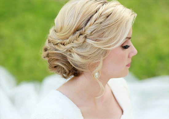 Wedding Hairstyles For Short Hair 2012: The Weekend Edition (July 14