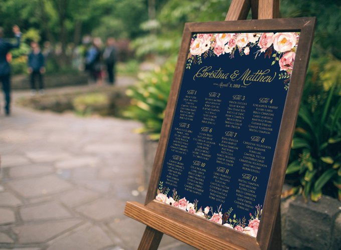 How to Assign Wedding Seats in 4 Easy Steps | http://emmalinebride.com/how-to/assign-wedding-seats/