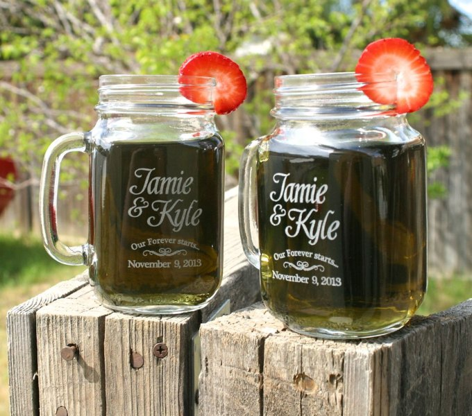 5 secrets to giving mason jar mug wedding favors emmaline bride