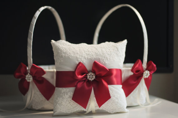 flower-girl-baskets-and-ring-pillow-marsala-wedding-by-emotions