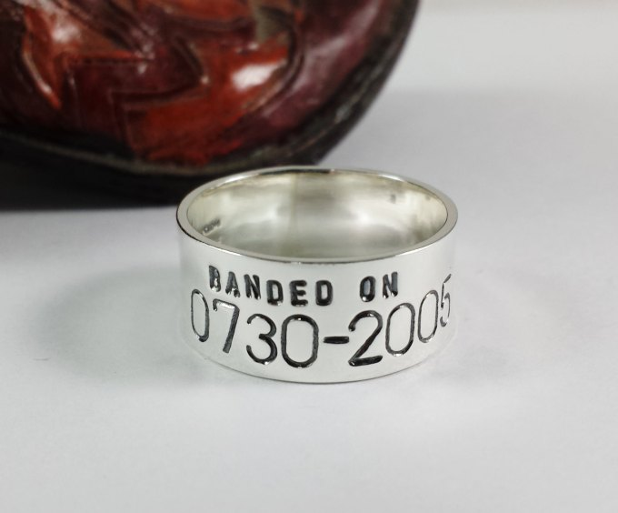 banded wedding ring by CharitableCreations