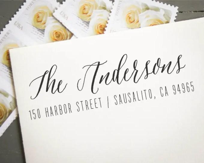 custom address stamp - image 4