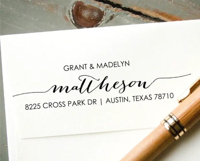 custom address stamp - image 5