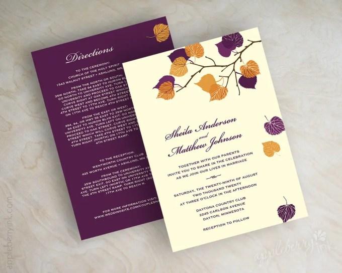 serena dark purple and orange