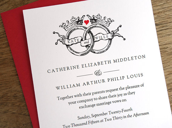 The Best Wedding Invitations: 50+ Best Handmade Wedding Invitations On Etsy (PHOTOS