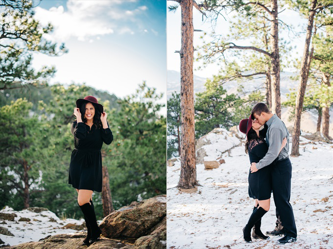 engagement session lookout mountain colorado | http://www.emmalinebride.com/real-weddings/engagement-session-lookout-mountain/ | photo: Searching for the Light Photography - Colorado Wedding Photographer