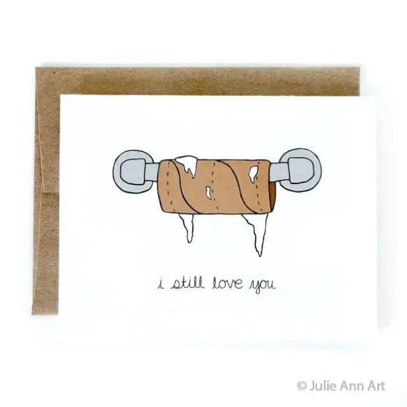 i still love you card