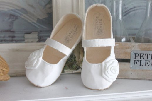 flower girl shoes 1