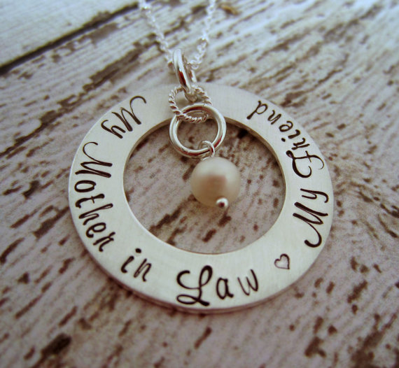 mother in law necklace by ellenbkeepsakes