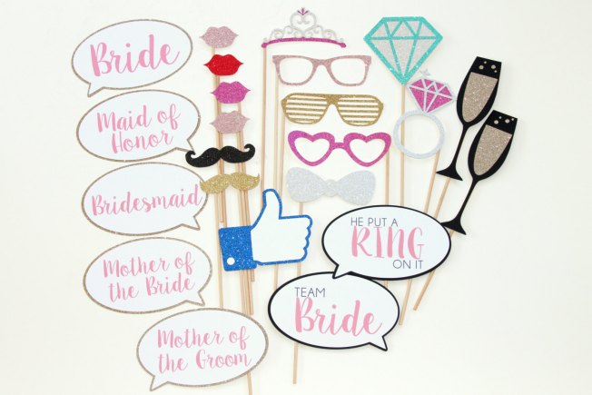 bachelorette photo props by aSimplyTweetAffair