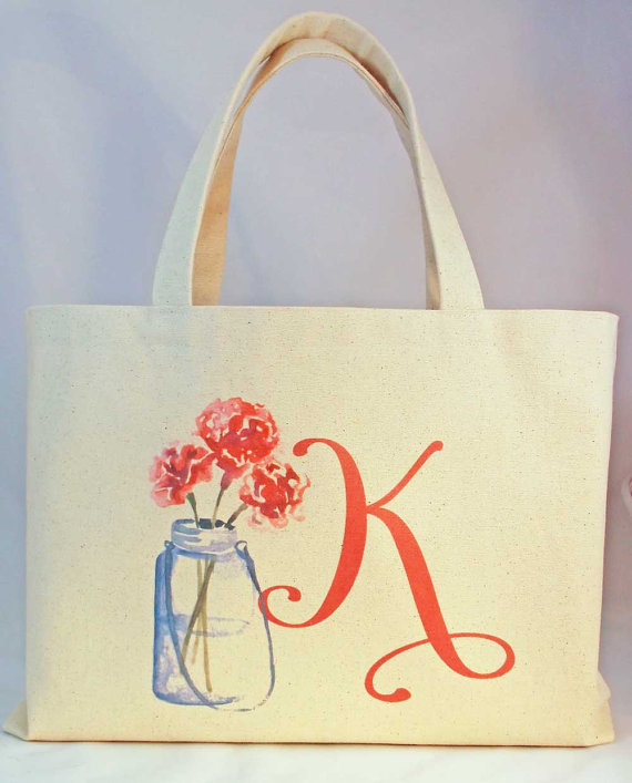 totes for bridesmaids gifts personalized wedding tote bags