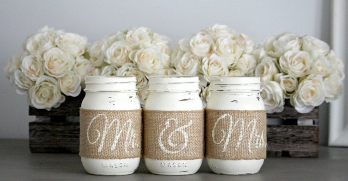 mr and mrs mason jars