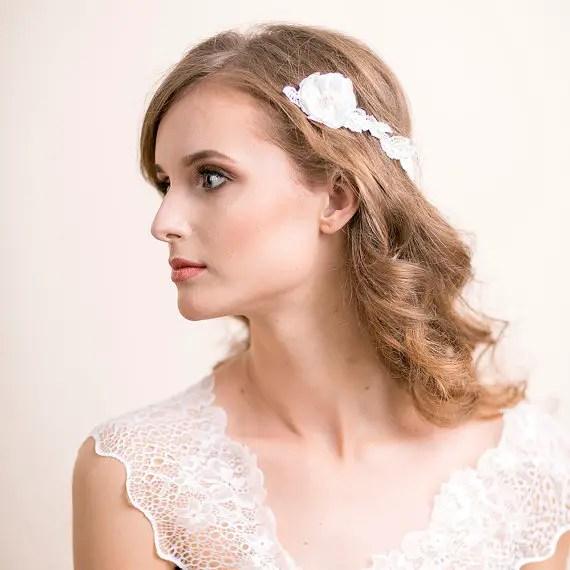 ranunculus flowers hair accessory 1