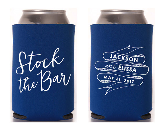 stock the bar koozies