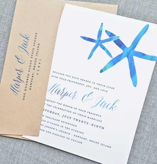 starfish-beach-wedding-invitations