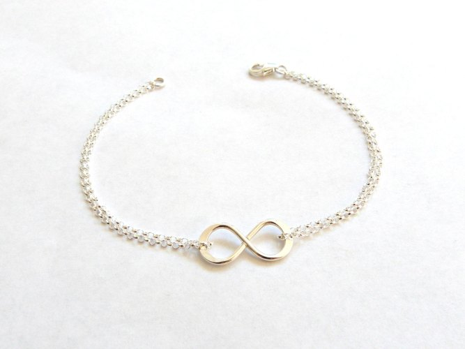 will you be my bridesmaid jewelry yes no check box infinity bracelet