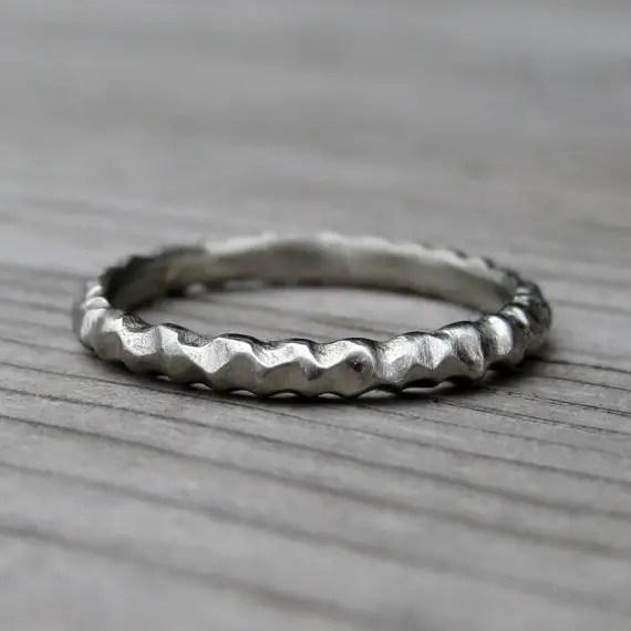 Mountain Wedding Ring 1 Marvelous mountain wedding ring rustic