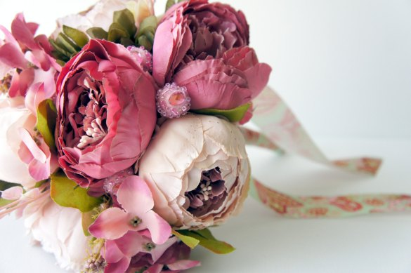Beautiful (Faux) Peony Bouquets That Last Forever