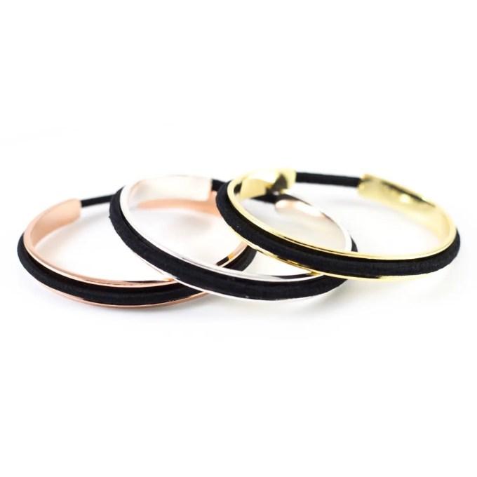 hair tie bracelets | http://emmalinebride.com/gifts/hair-tie-bracelets/
