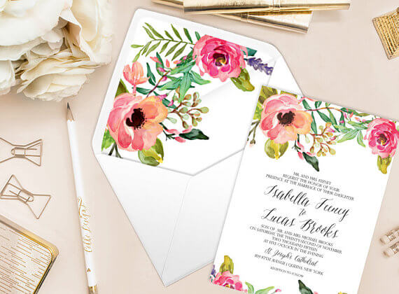 printable envelope liners cokko designs