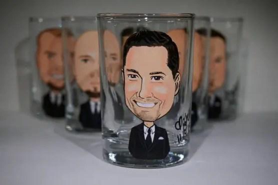 groomsmen shot glasses -