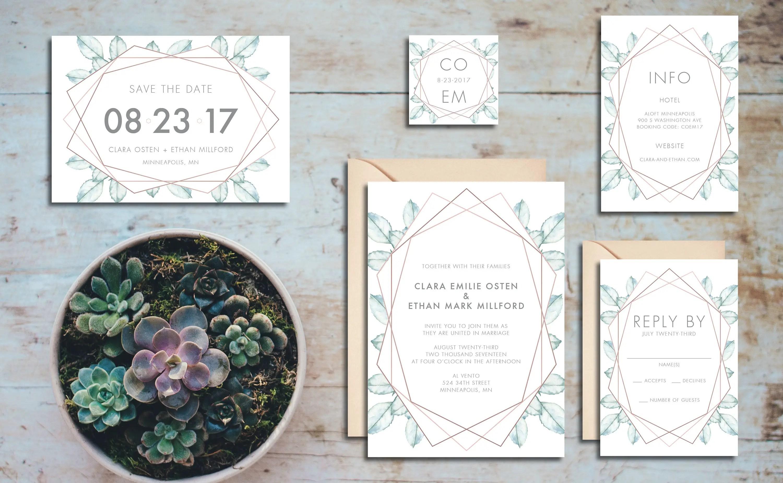 50+ Best Handmade Wedding Invitations on Etsy (PHOTOS)