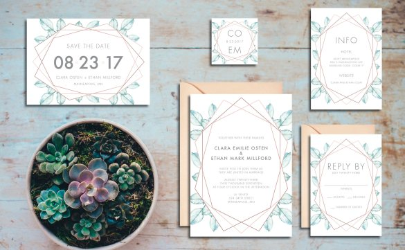 50+ Best Wedding Invitations // via http://bit.ly/2yB6Ful